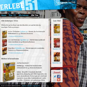 151: Länderdokumentationsreihe aus dem Conbook Verlag